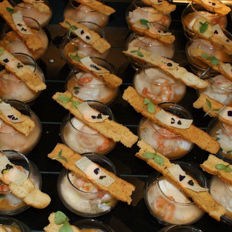 Thuiskok: Bouillabaisse met kabeljauw en gamba.