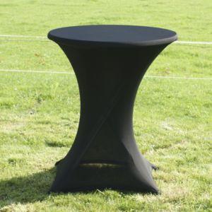 Sta tafel gerokt zwart
