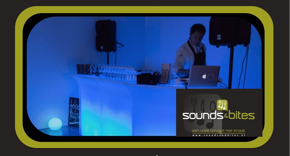 Sounds & Bites led bar