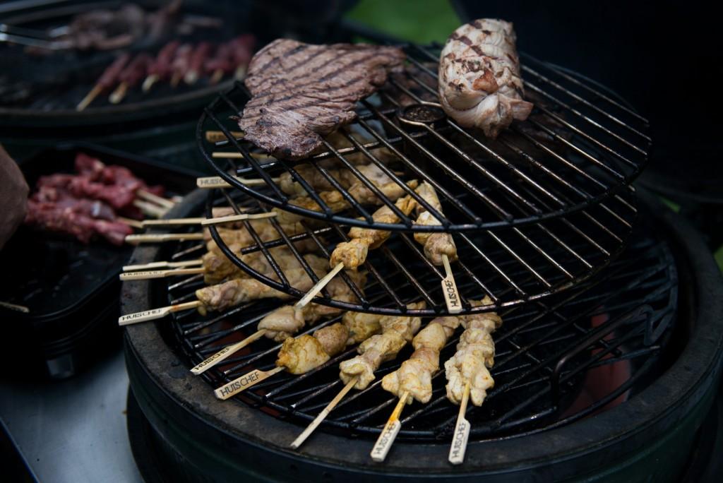 BBQ chef yakitori