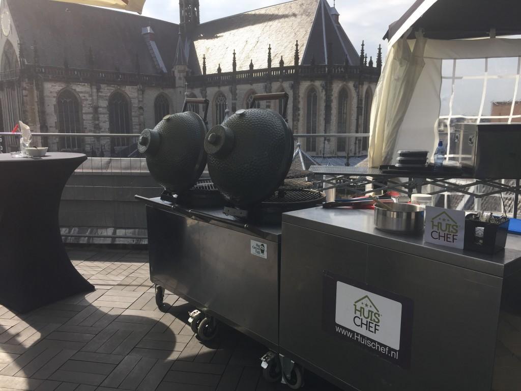 Bedrijfs barbecue in Amsterdam