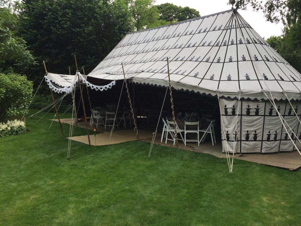 Tent bruiloft