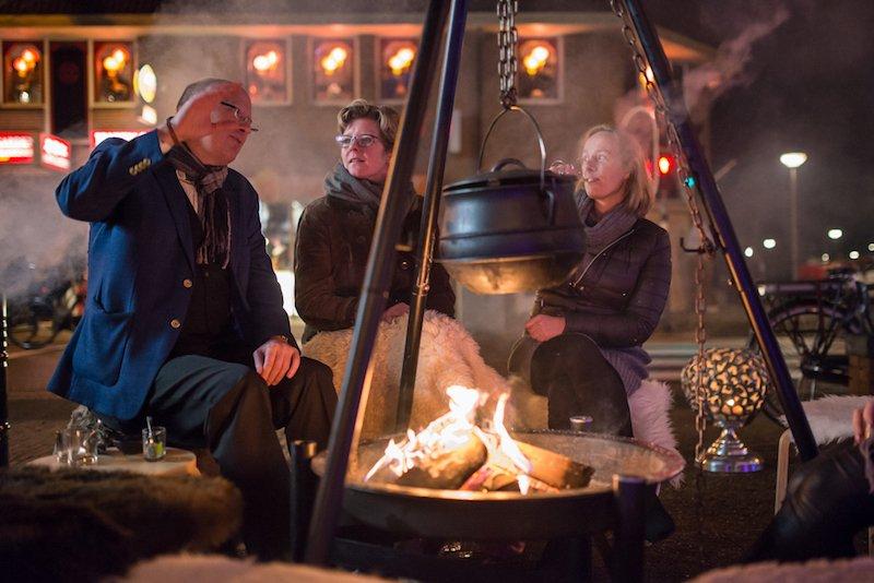 Winter BBQ vuurkorf Huischef