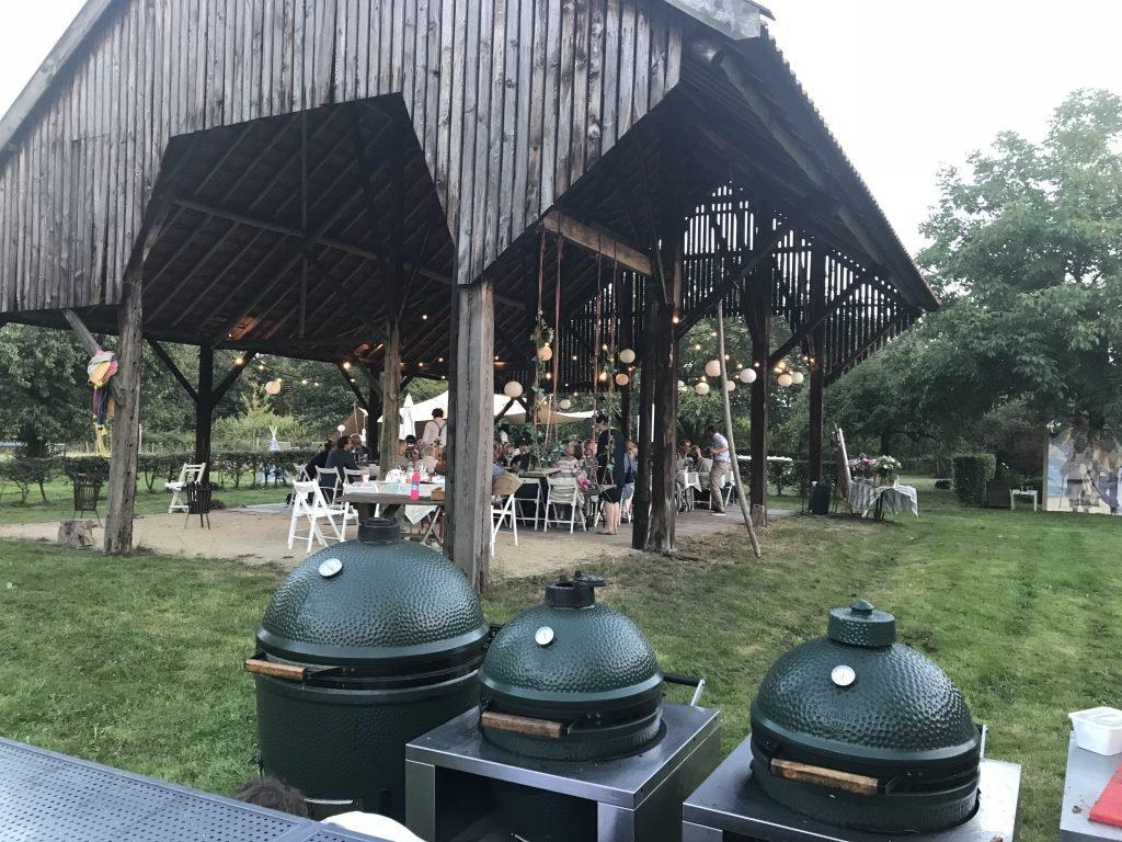 Big green egg bruiloft