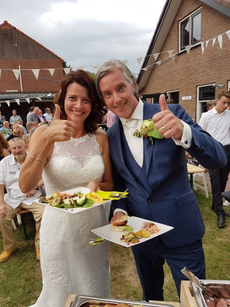 Bruidspaar Nijkerk