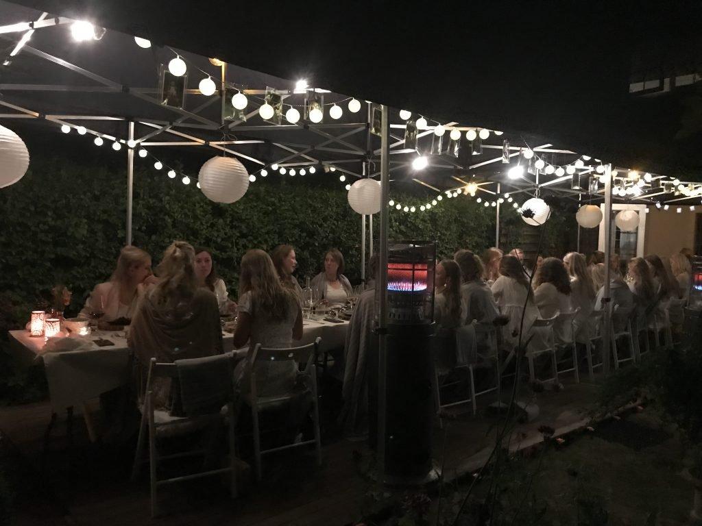 21 diner met kok