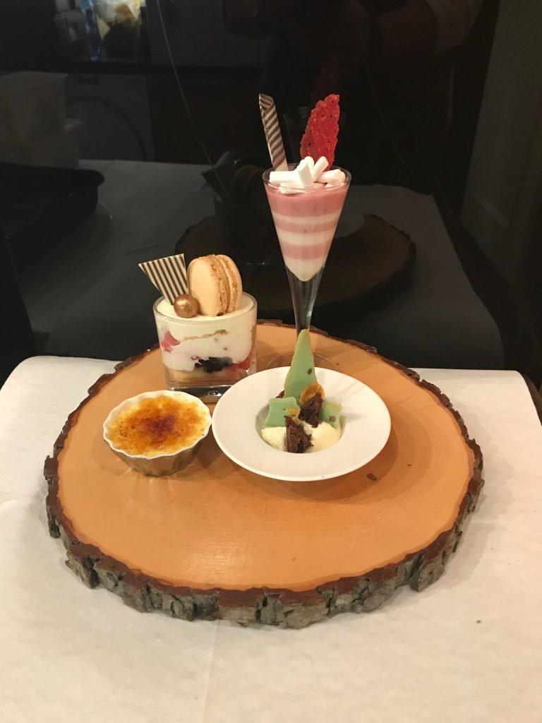 Grand desser 21 diner