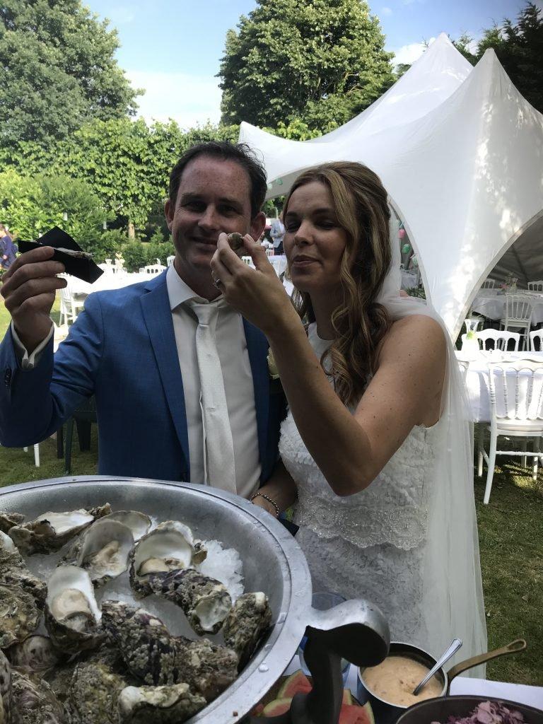 Oesters bruidspaar