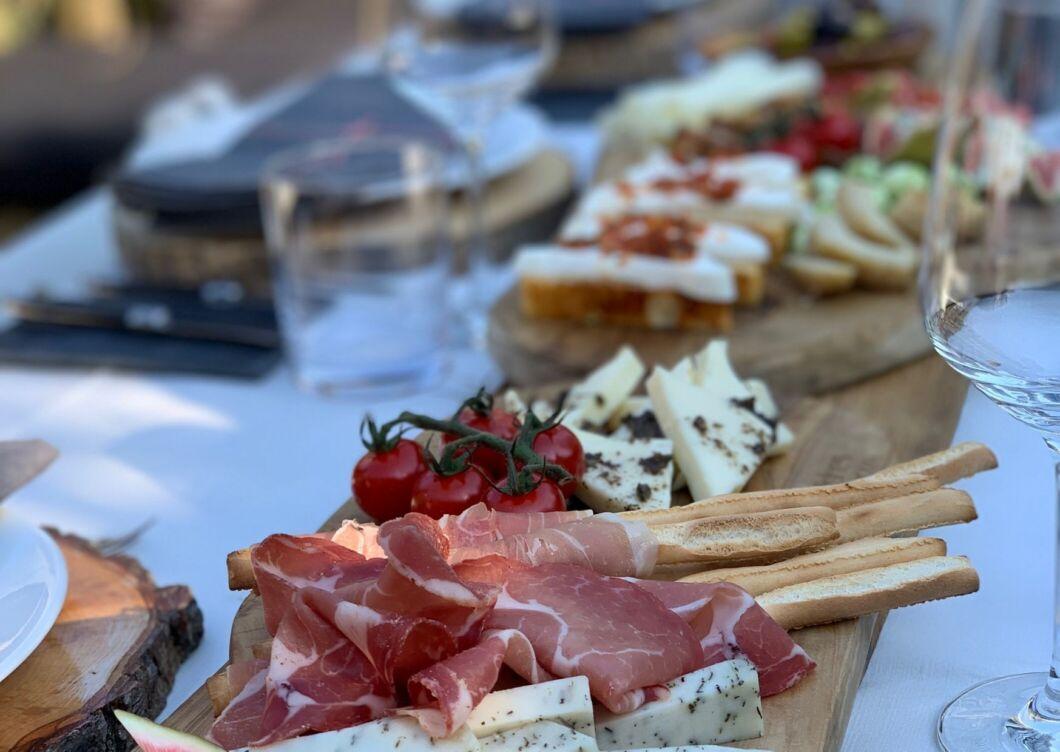 Italiaanse sharing dinner