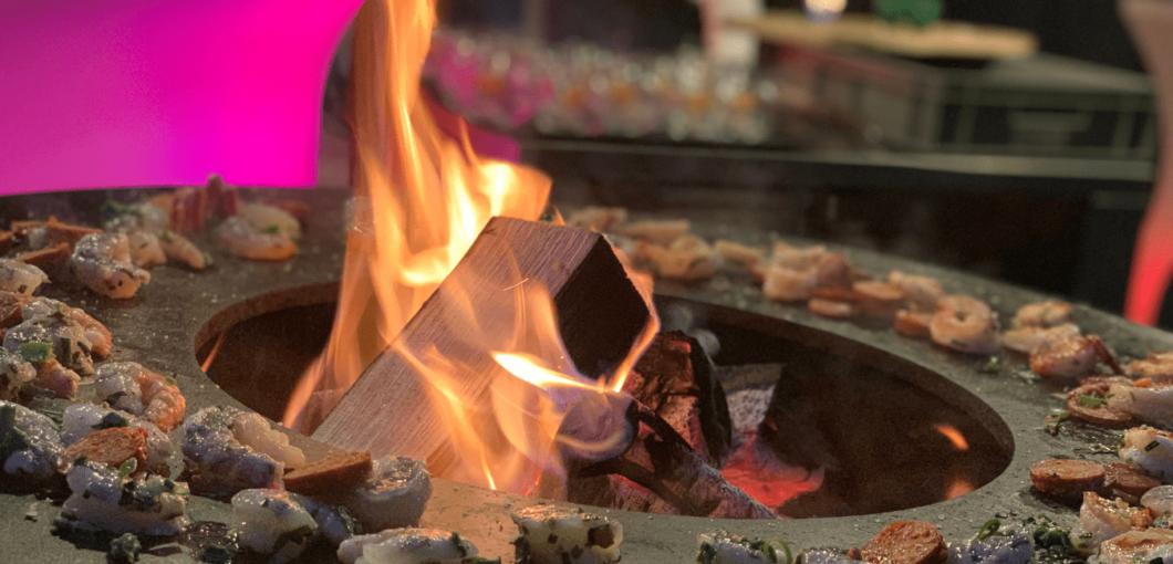 Catering van de BBQ in Amersfoort