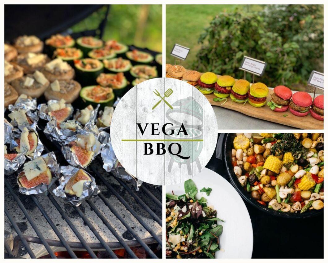 Vegan en vegetarische BBQ met kok