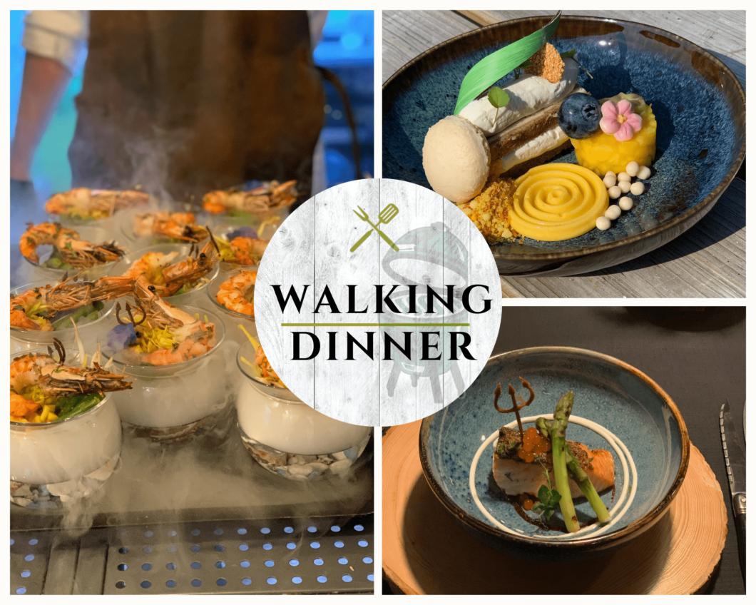 Stel uw eigen Walking dinnervan de Big Green Egg samen