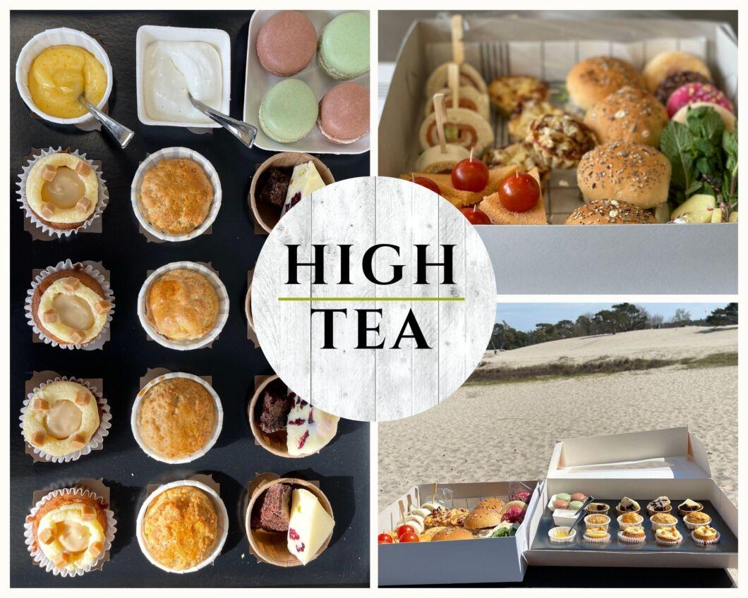 High tea picknick Huischef Soesterduinen