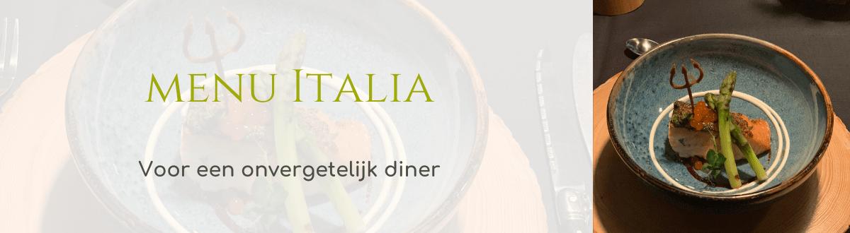 Thuis Chef menu Italia